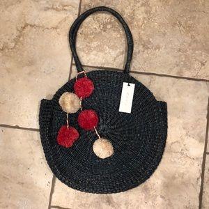 Kayu Straw Circle Bag